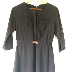 Skies Are Blue Delaine Belted Shirt Dress